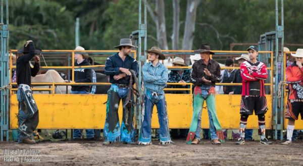 Waiting for a ride at Mooloolah Rodeo